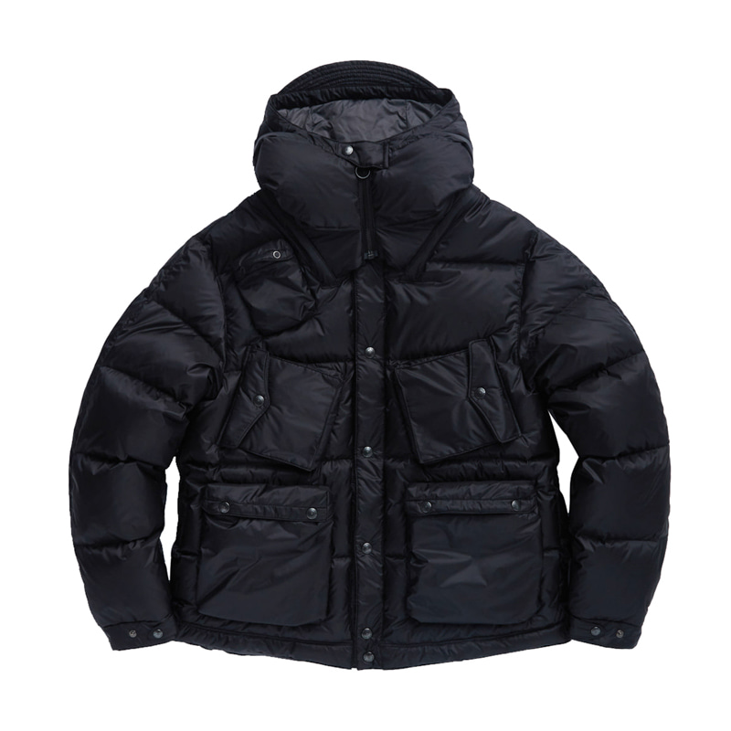 C-1 DOWN PARKA - BLACK QUANTUM