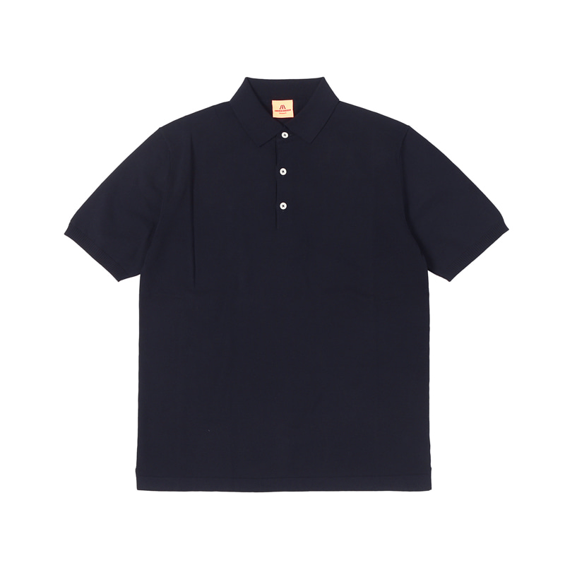 SHORT POLO SHIRT - NAVY BLUE