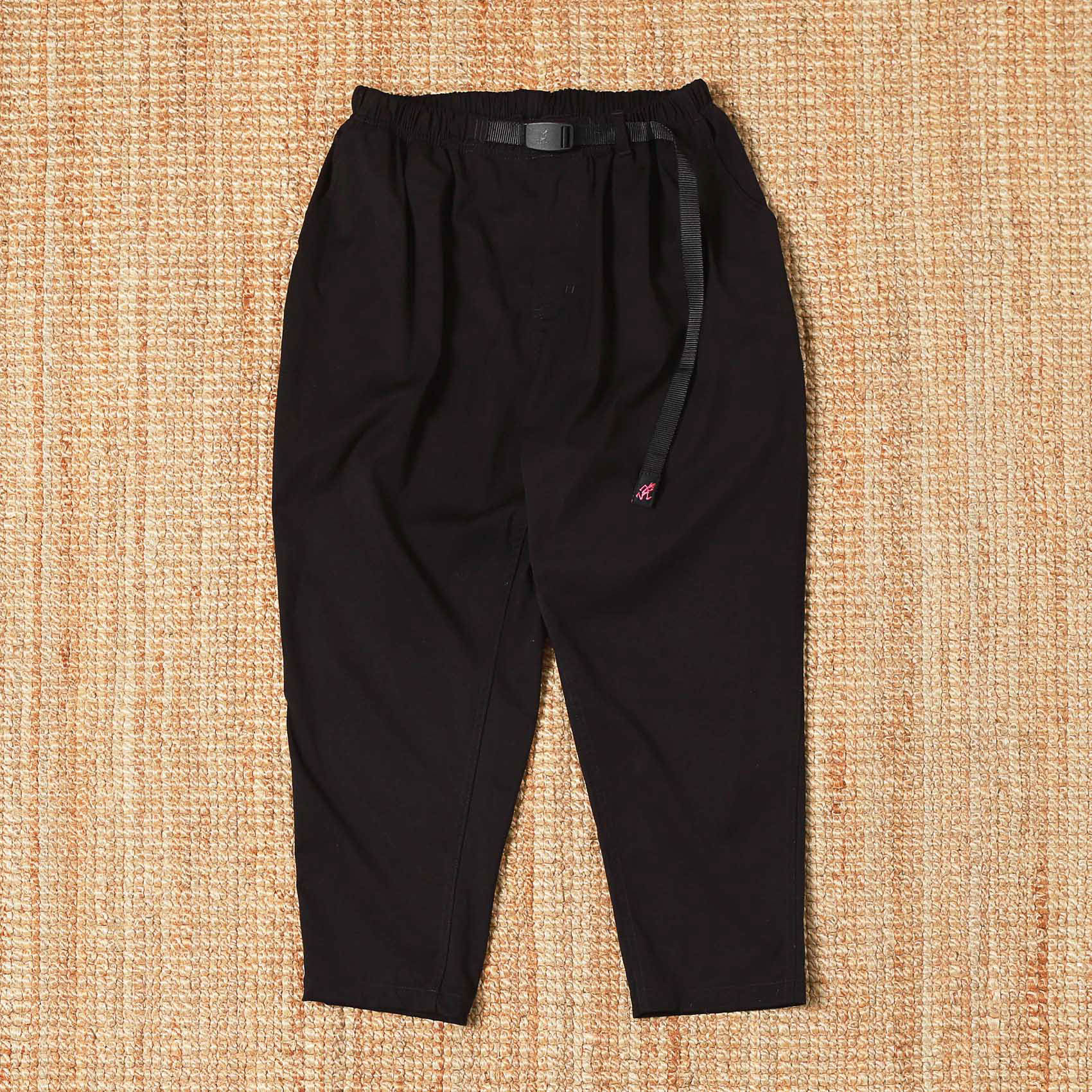 GRAMICCI TAPERED PANTS - BLACK