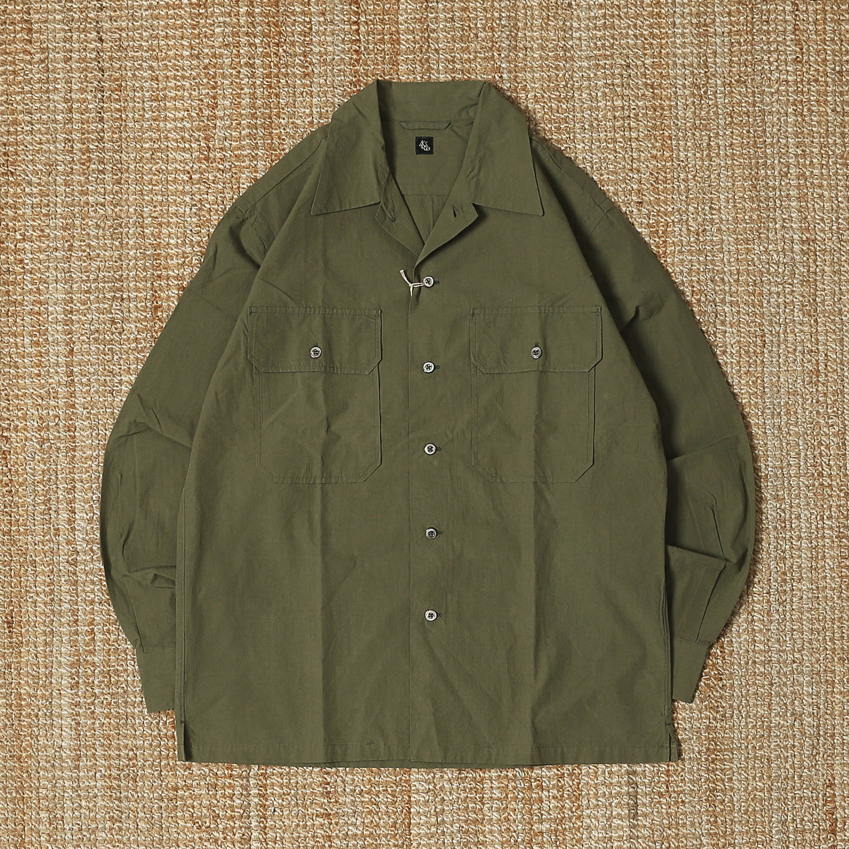 KAPTAIN SUNSHINE MIL.SHIRT JACKET - OLIVE