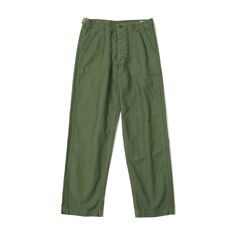 US ARMY FATIGUE PANTS (REGULAR FIT) - GREEN USED