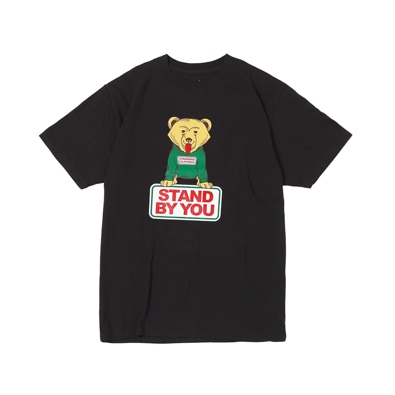 STAND BY YOU TEE - BLACK