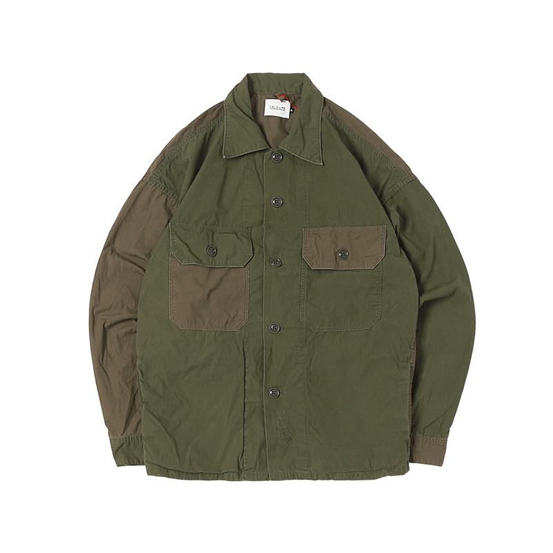 UTILITY FATIGUE SHIRTS - OLIVE DRAB