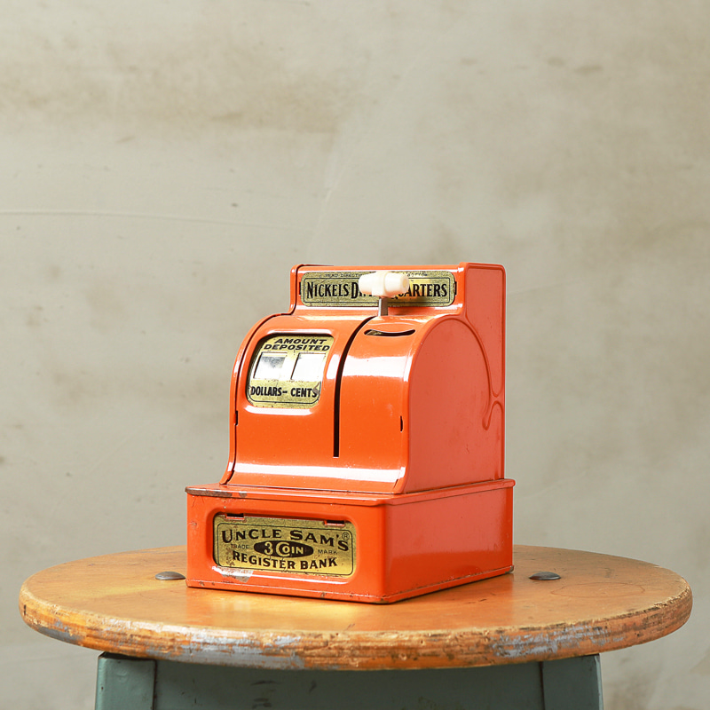 UNCLE SAM'S REGISTER BANK - ORANGE #1