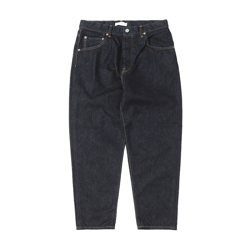 LOOSE TAPERED DENIM JEANS - ONE WASH(NS)