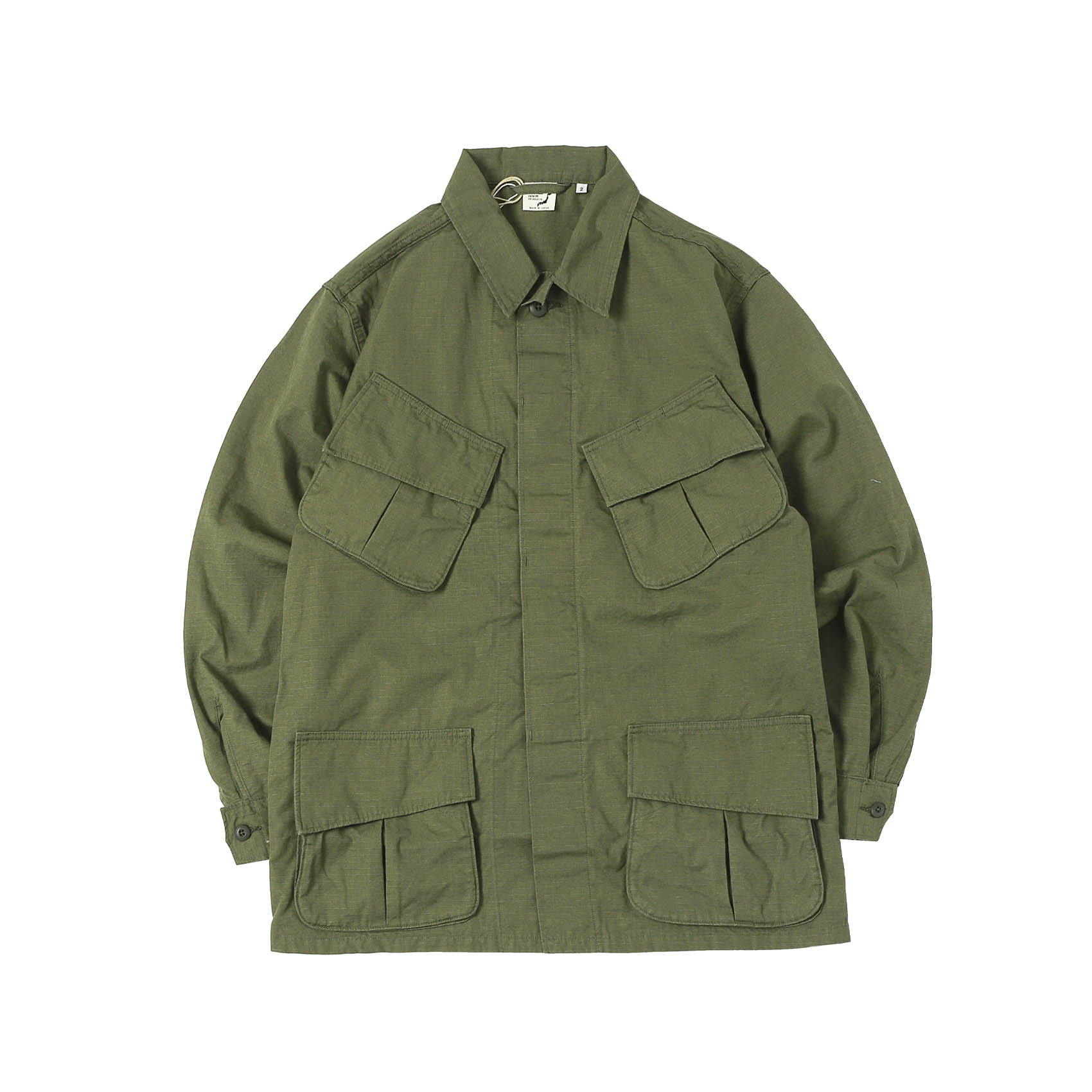 US ARMY JUNGLE FATIGUE JACKET - ARMY GREEN