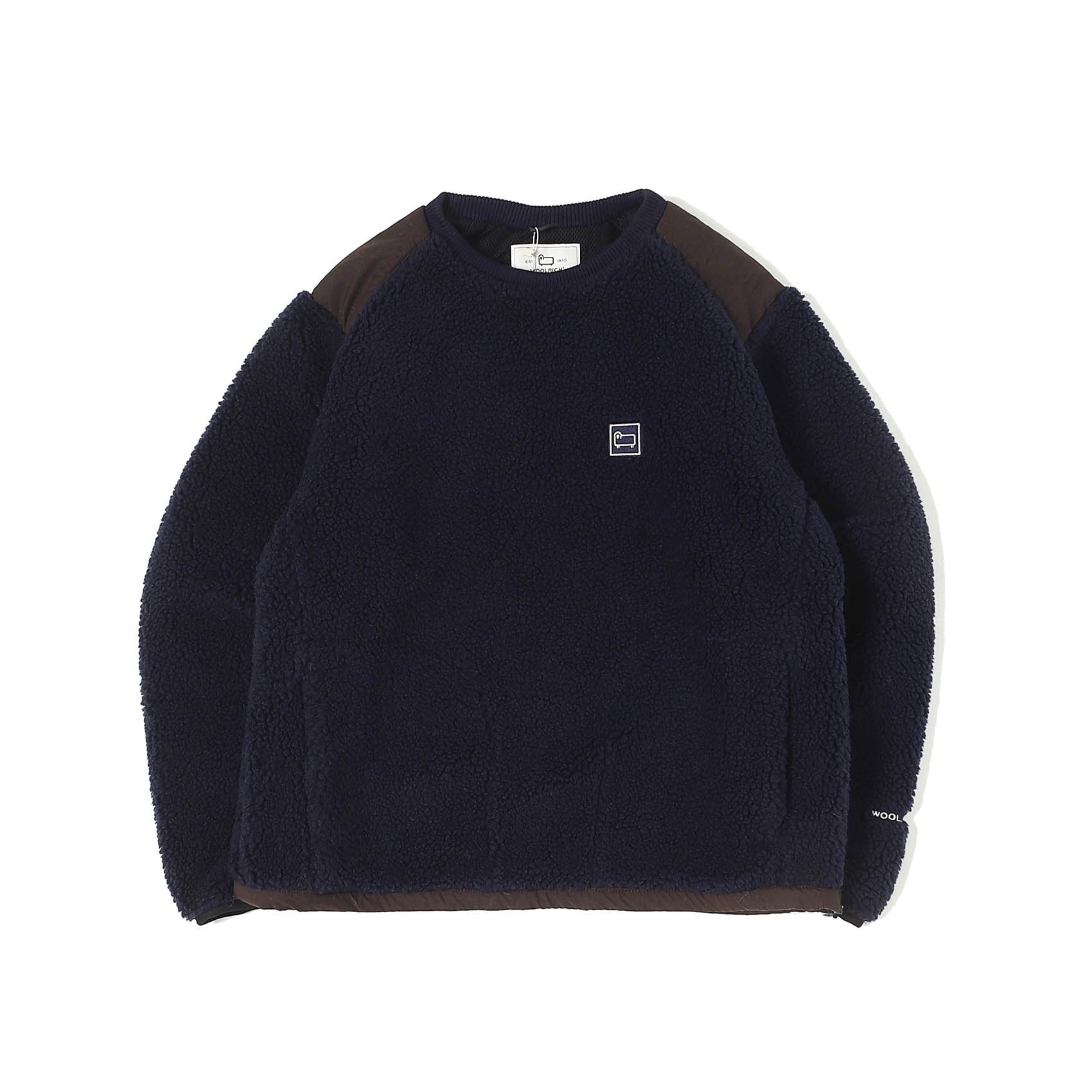 TERRA PILE FLEECE PULLOVER - NAVY