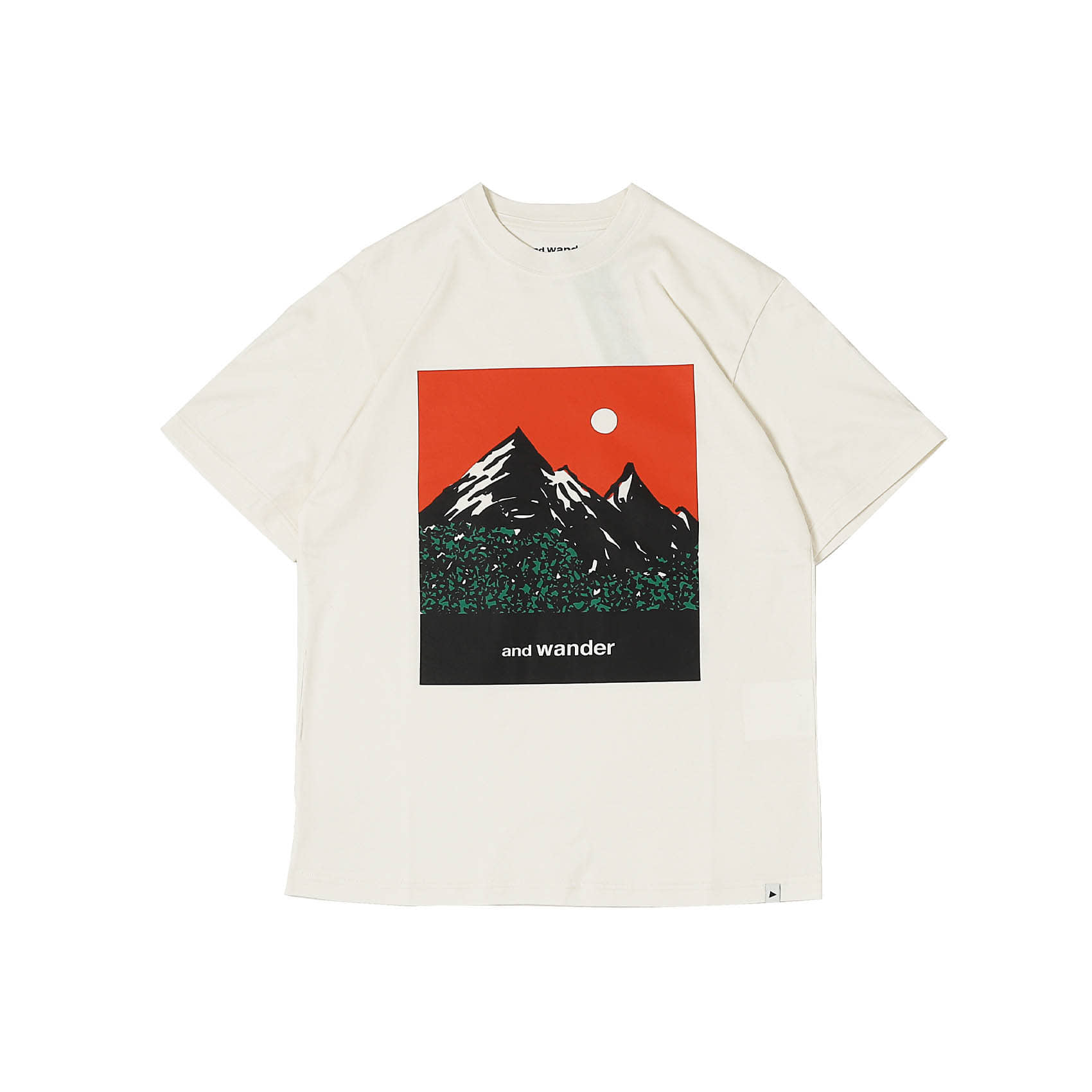 MOUNTAIN AND MOON - OFF WHITE