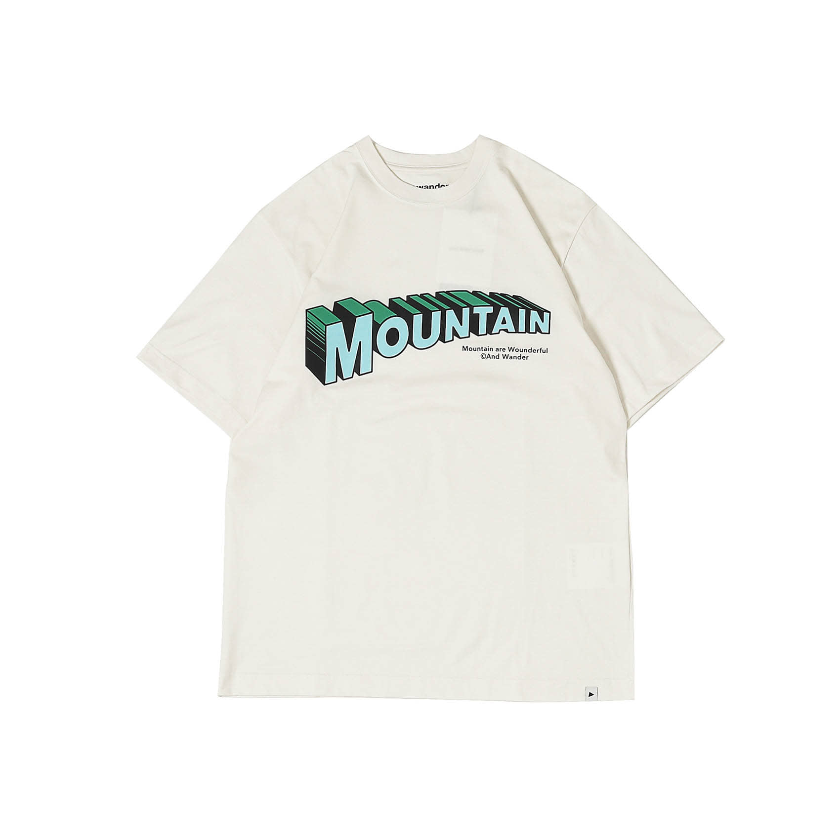 MOUNTAIN BY JERRY UKAI SHORT SLEEVE TEE - OFF WHITE