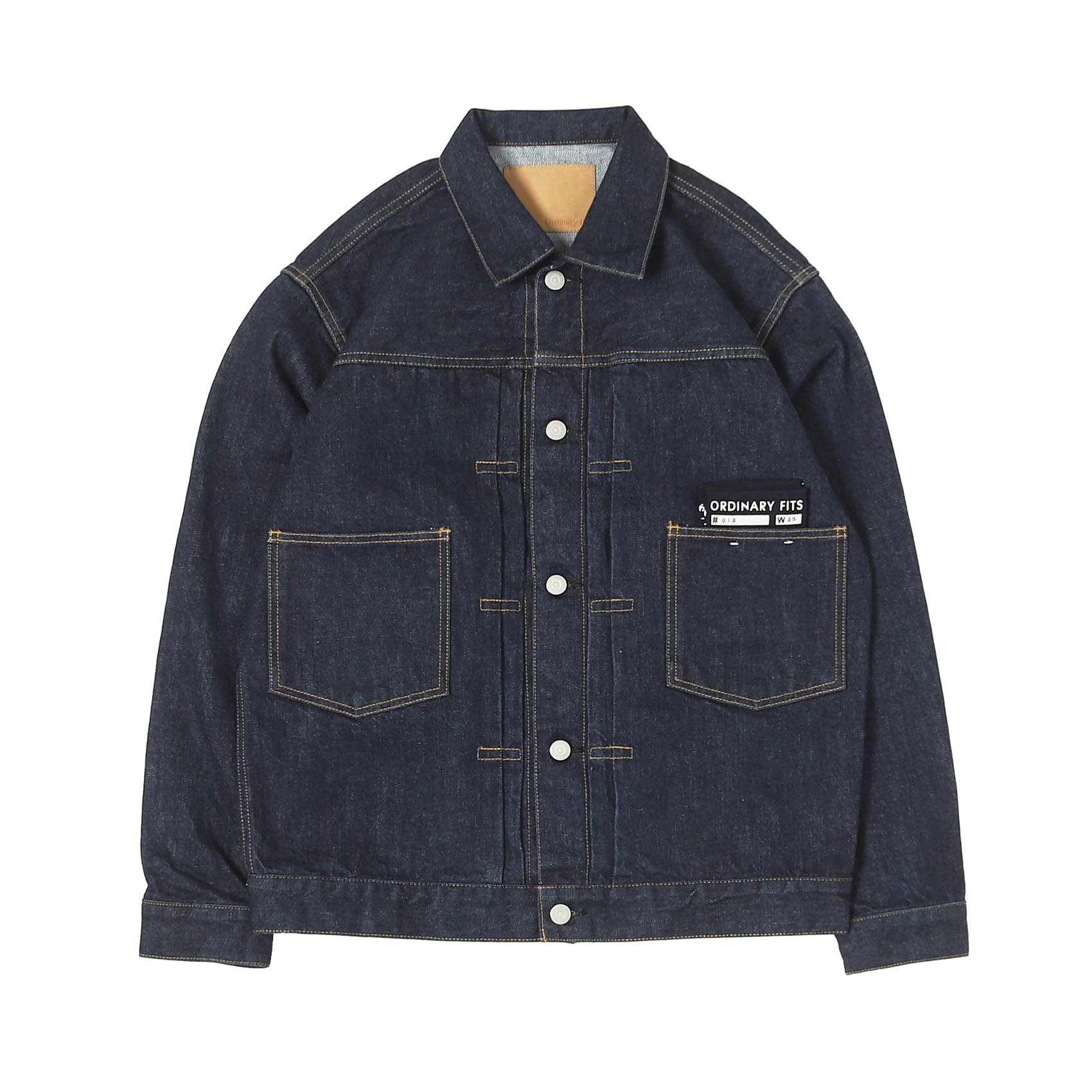 DENIM JACKET 1ST - ONE WASH