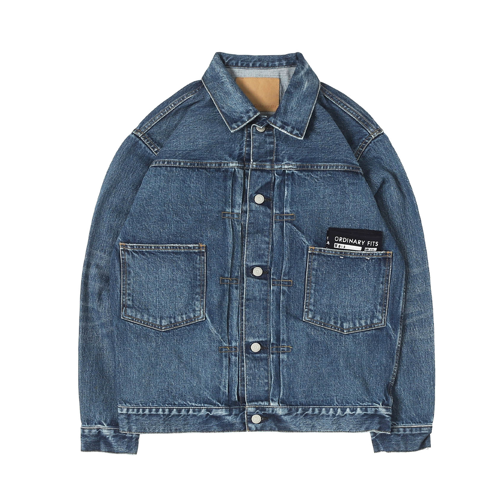 DENIM JACKET 1ST - USED