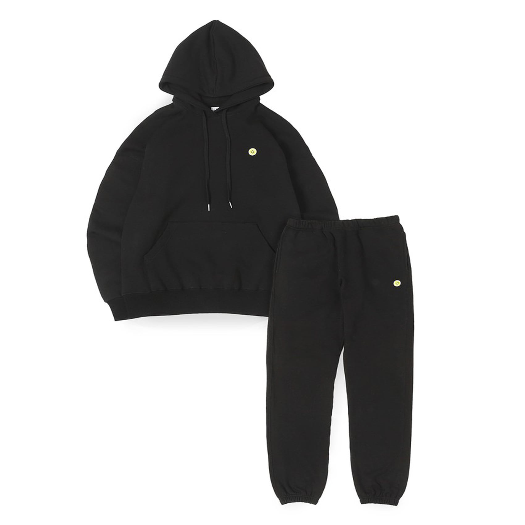 SMILE BALL SWEAT SET-UP - BLACK