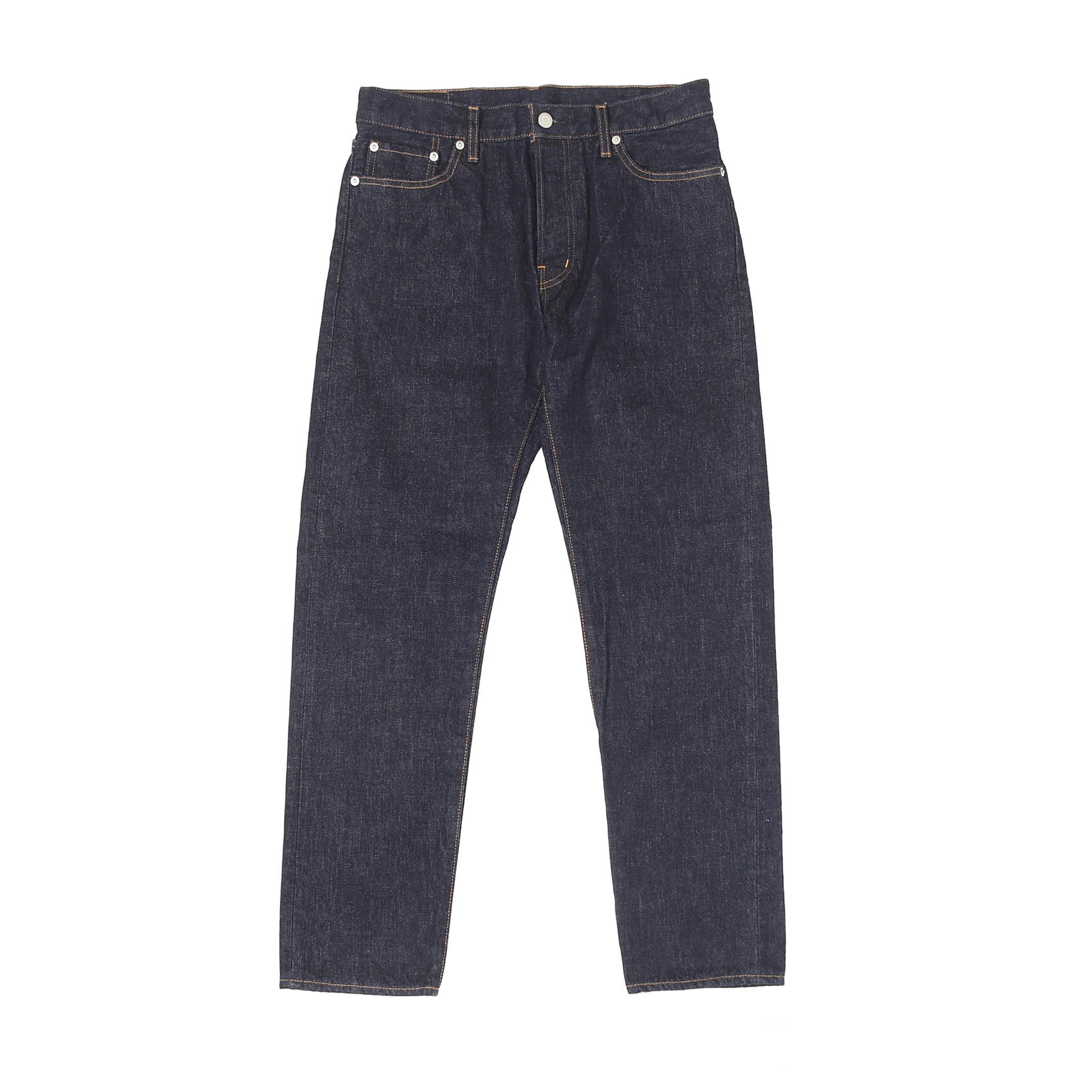 5 POCKET ROLL UP DENIM PANTS - INDIGO OW