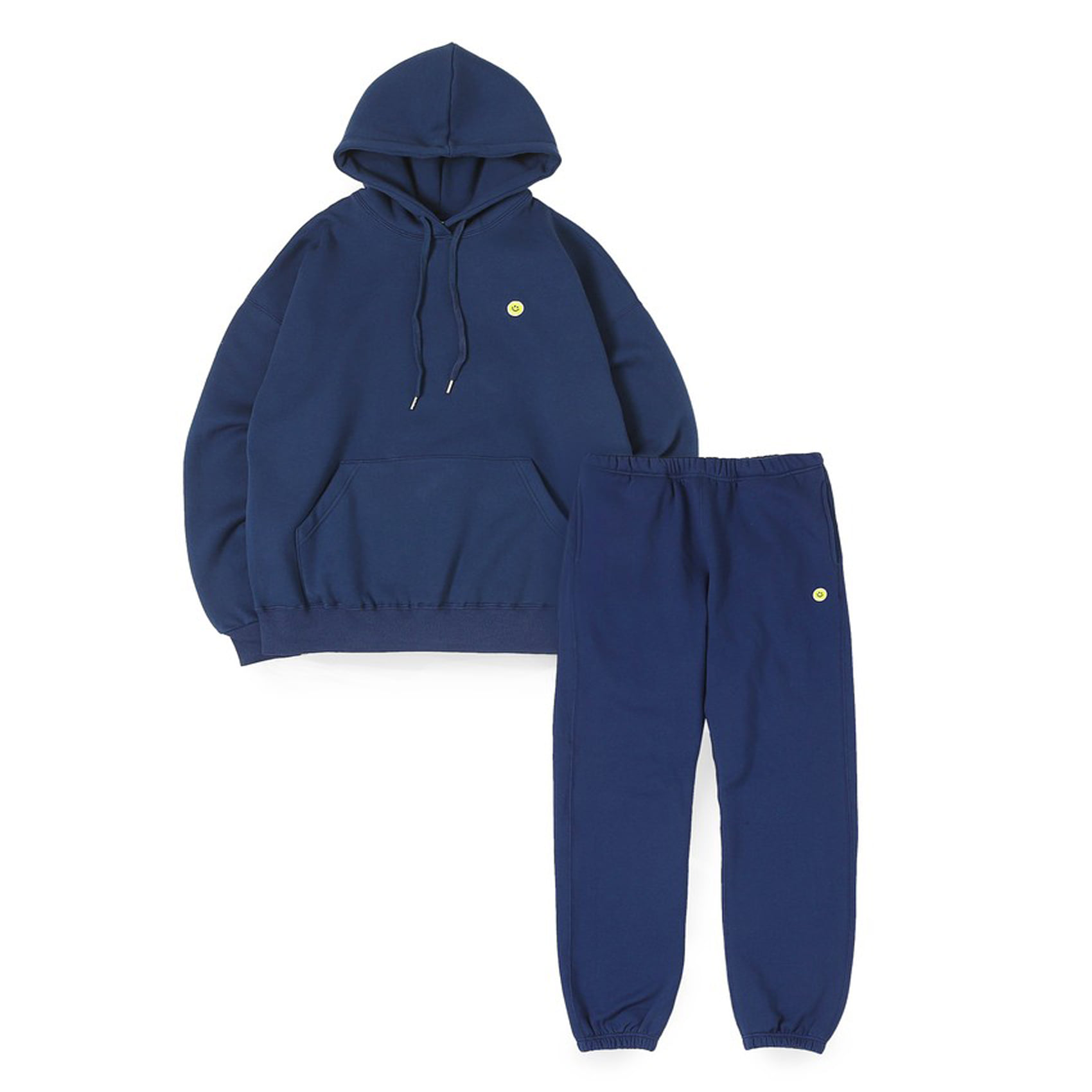 SMILE BALL SWEAT SET-UP - NAVY
