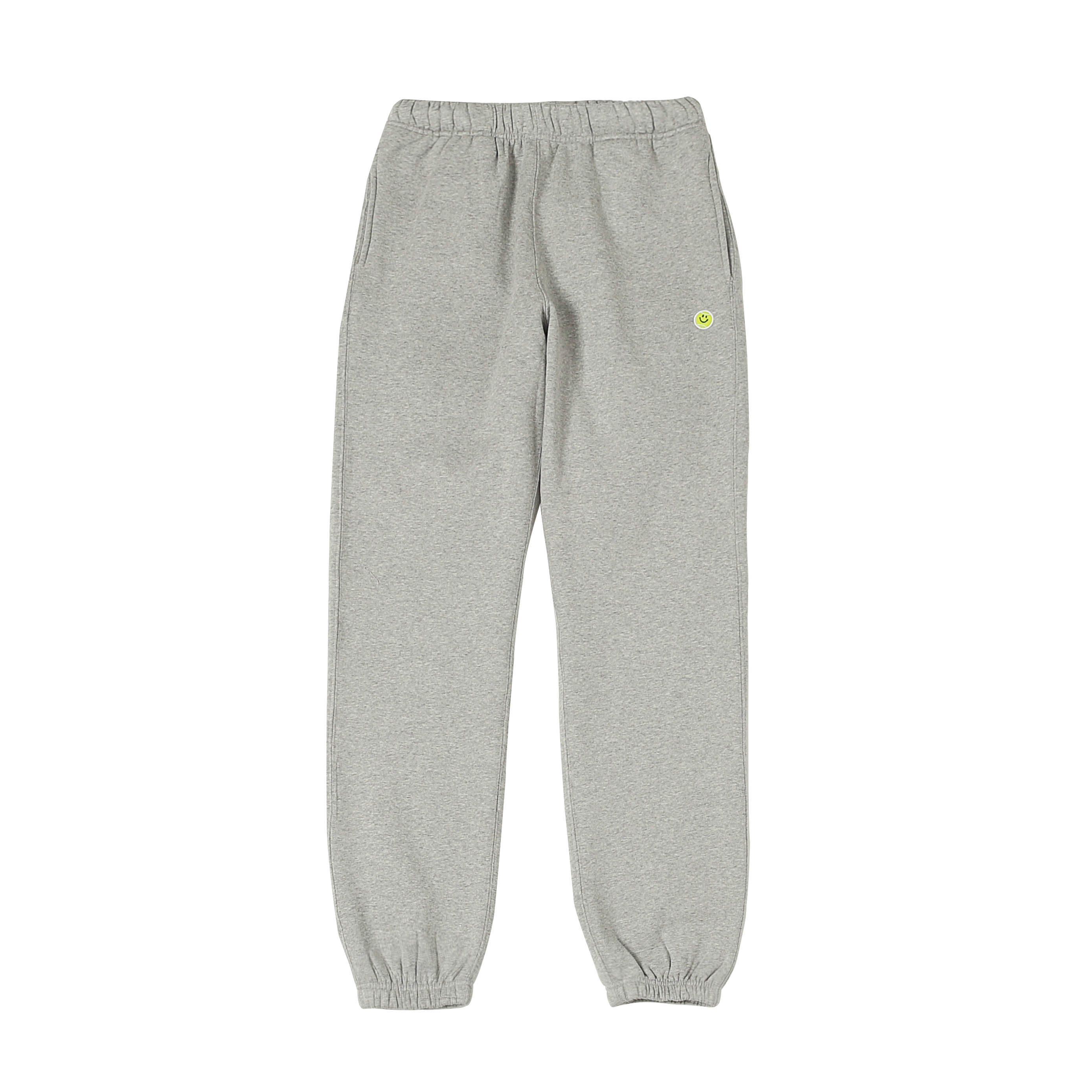 SMILE BALL SWEAT PANTS - M.GREY