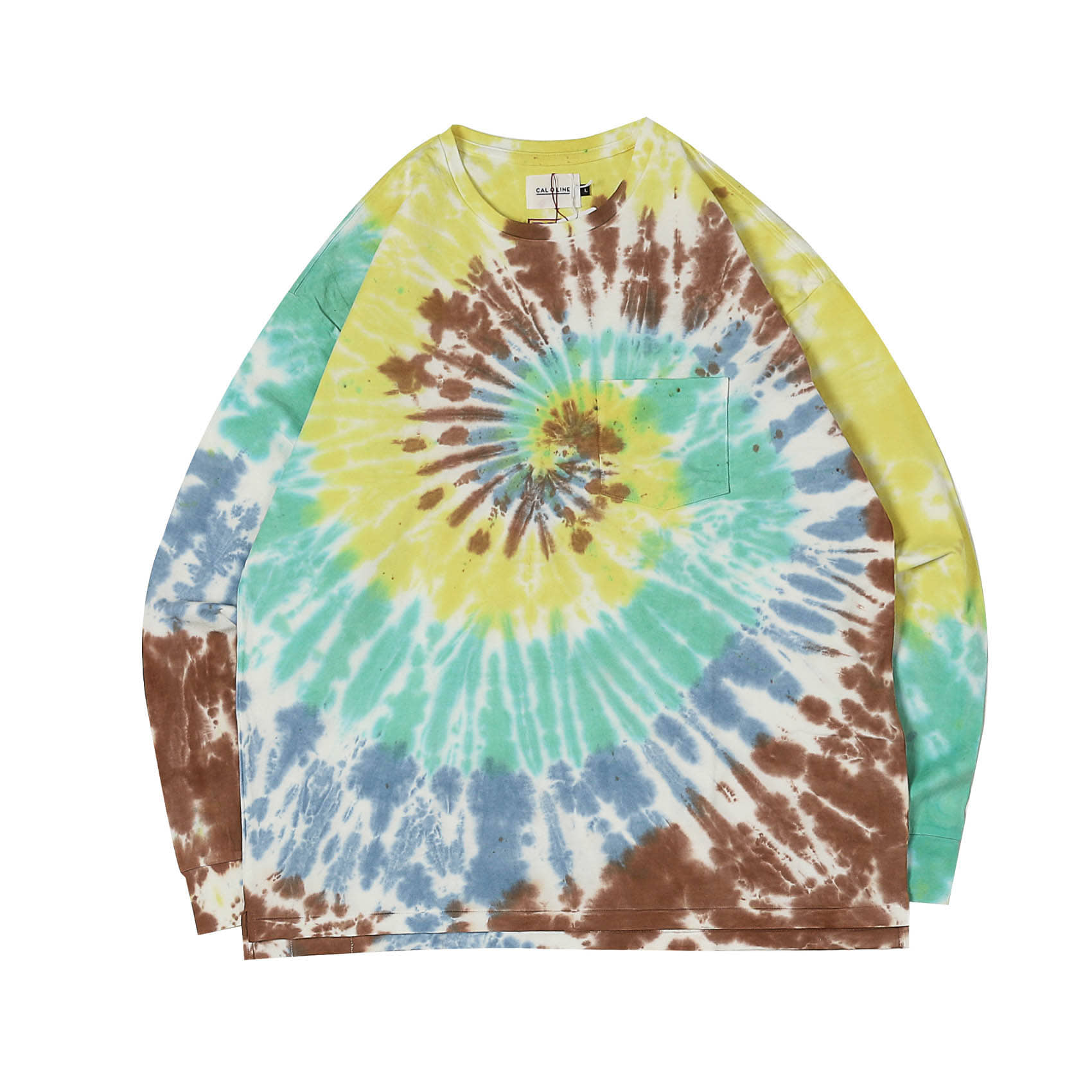 TYE DYE LONG SLEEVE TEE - A
