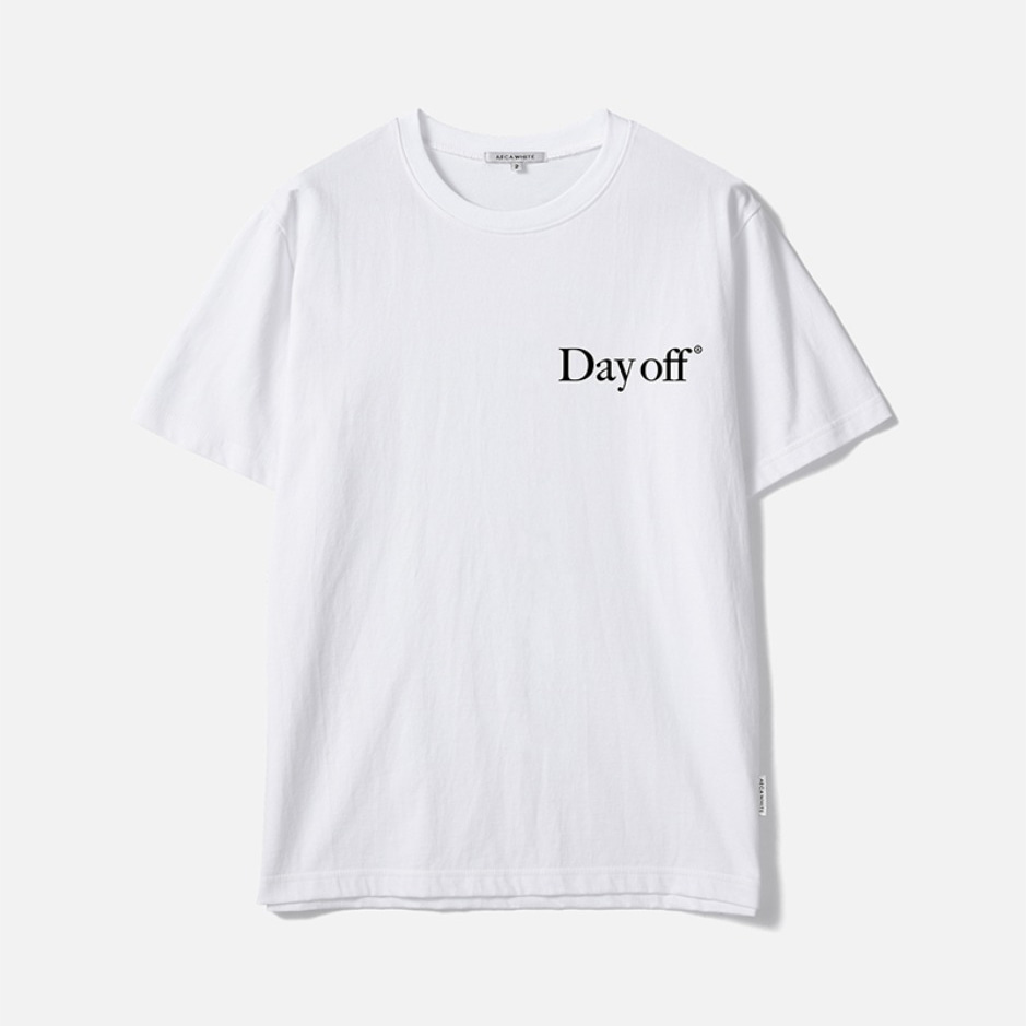DAY OFF TEE - WHITE