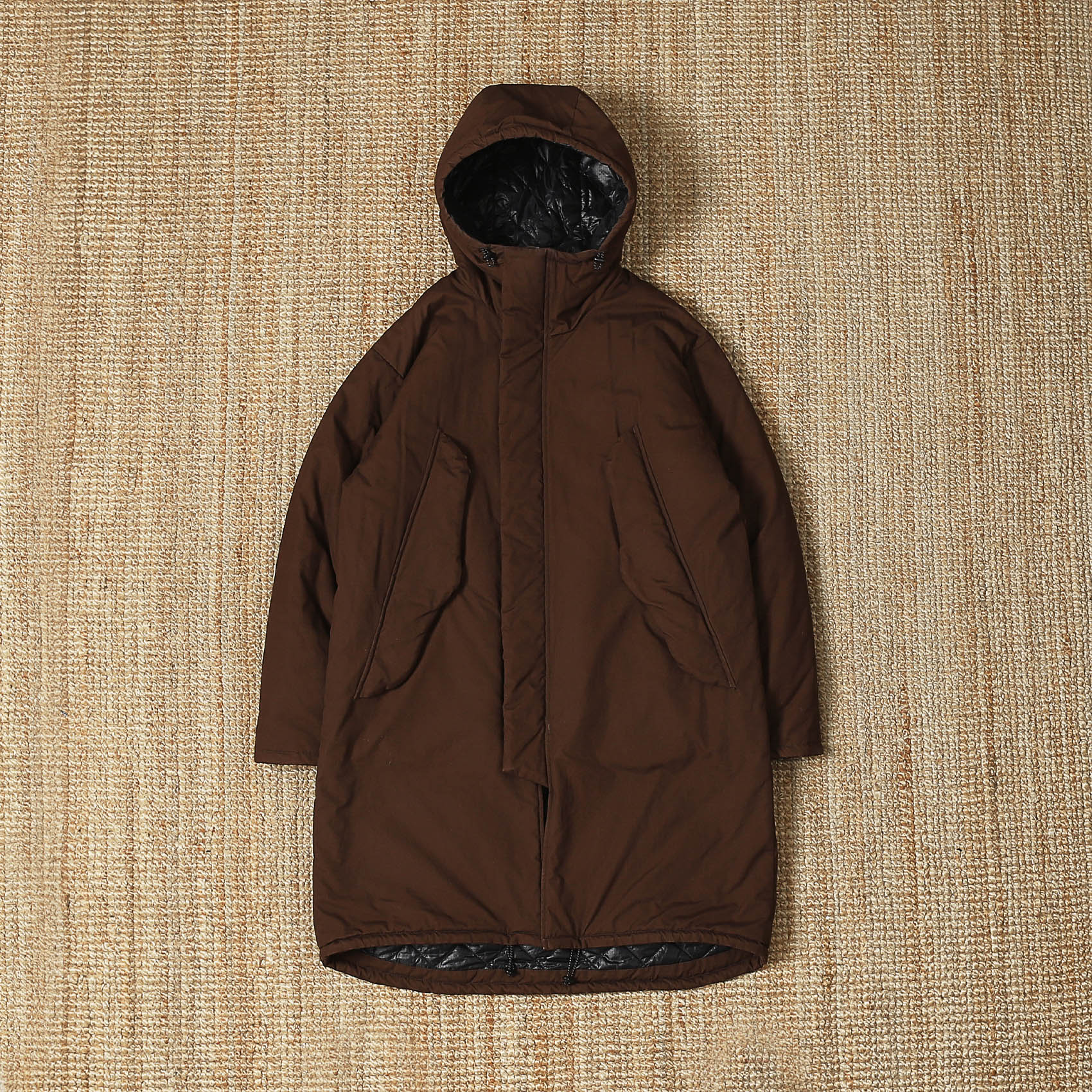 MONITALY HARRYS COAT - BROWN