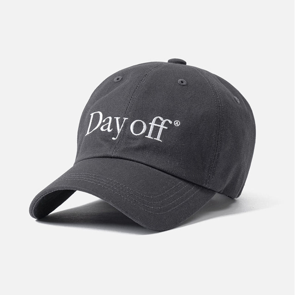 DAY OFF CAP - CHARCOAL