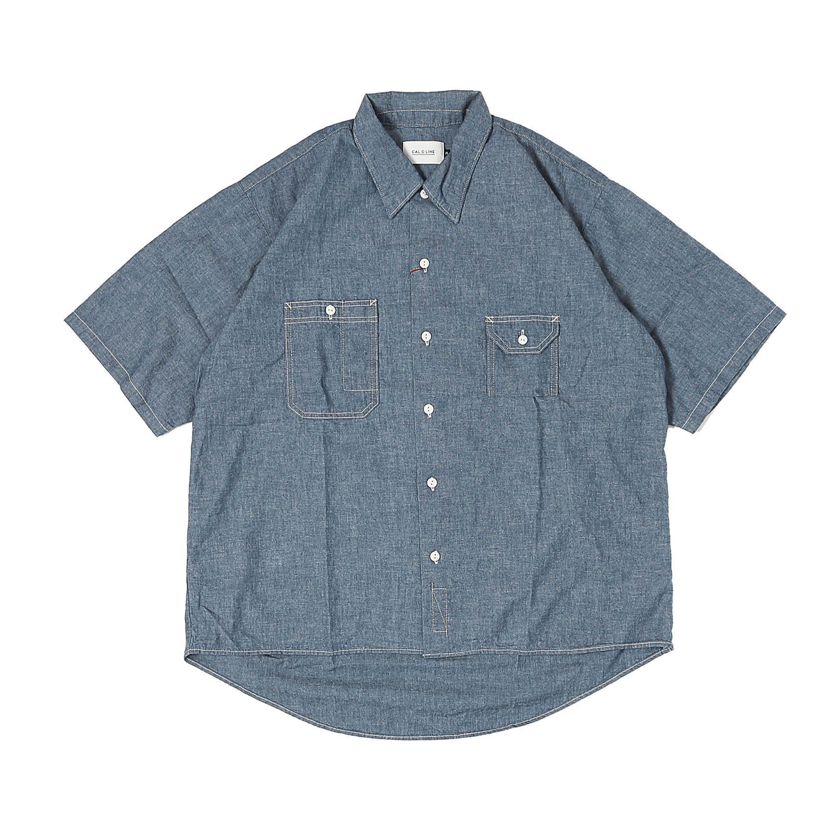 CHAMBRAY SHIRT - BLUE