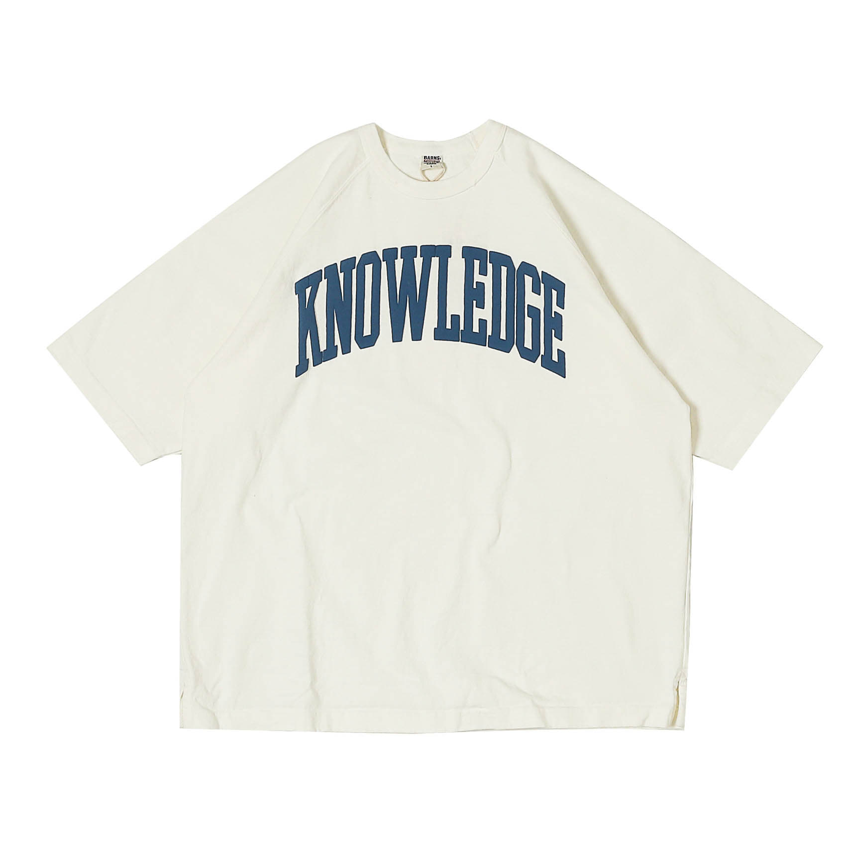S/S PRINTED TEE - KNOWLEDGE WHITE