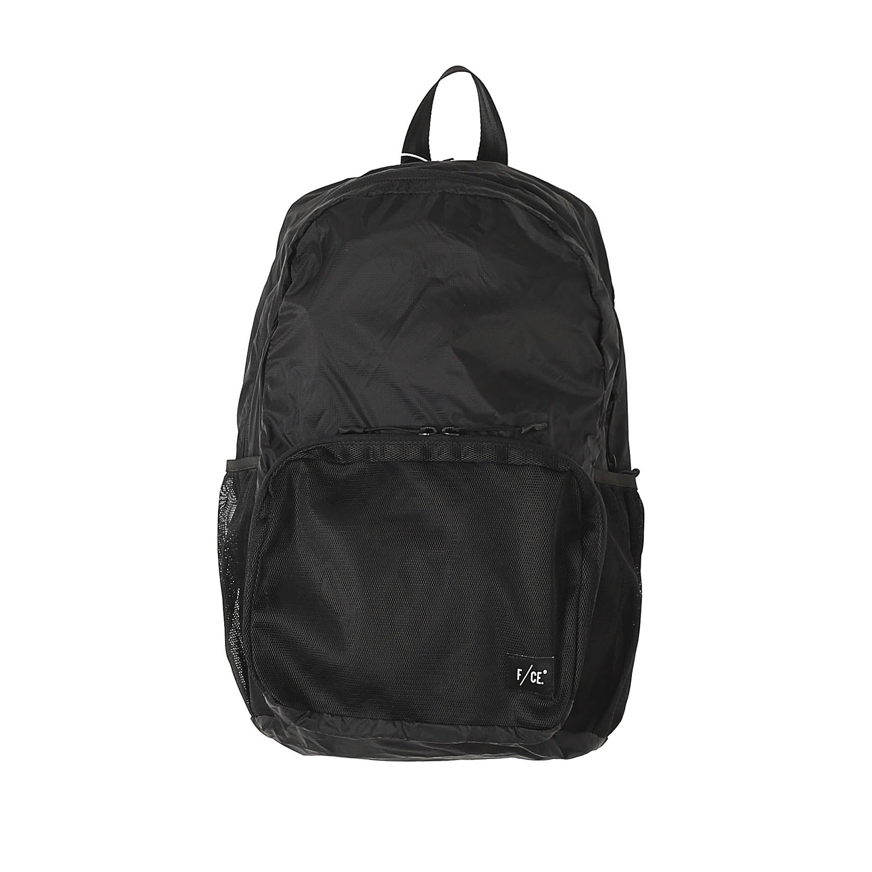RECYCLED PACKABLE DAYPACK - BLACK