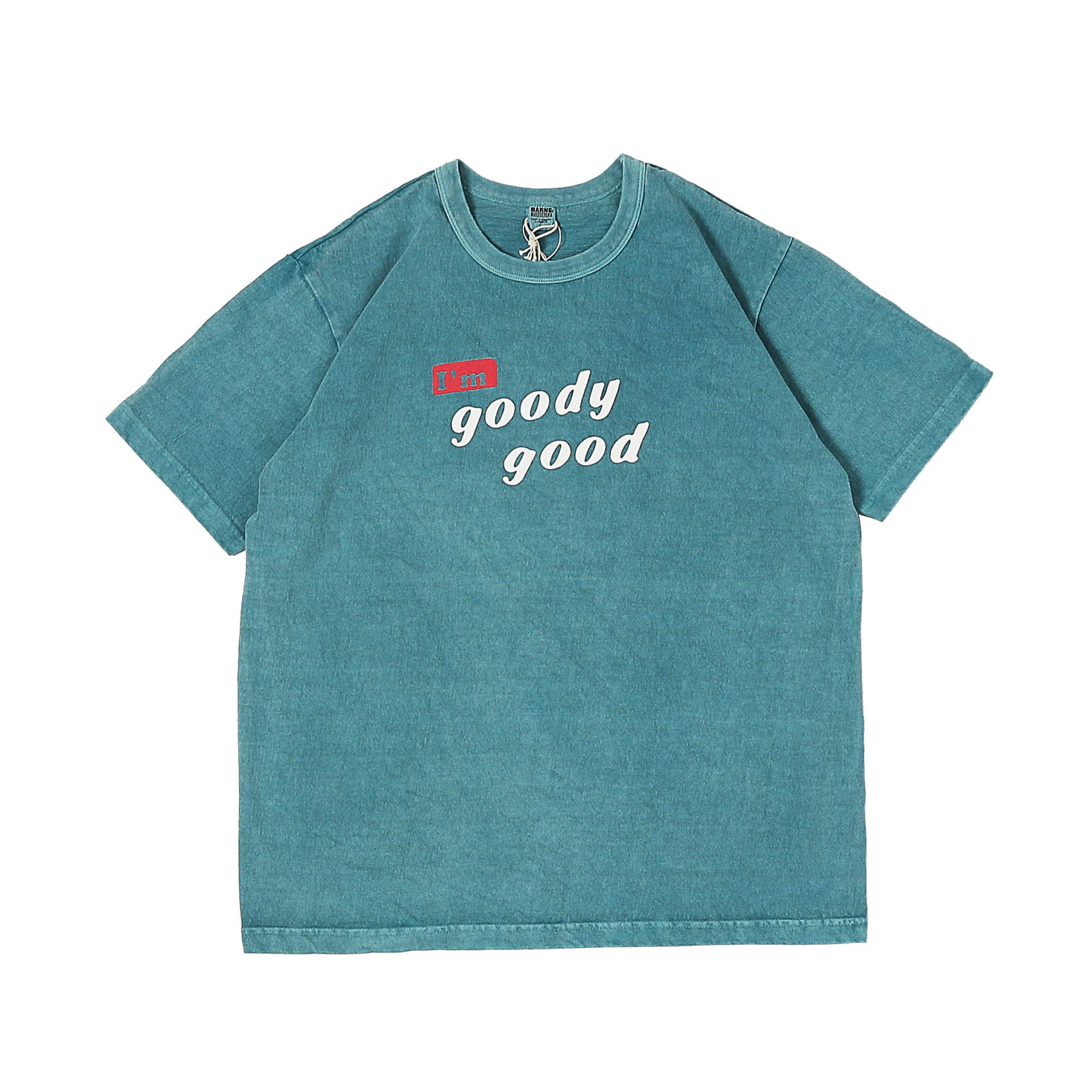 S/S PRINTED TEE - GOODY GOOD MINT