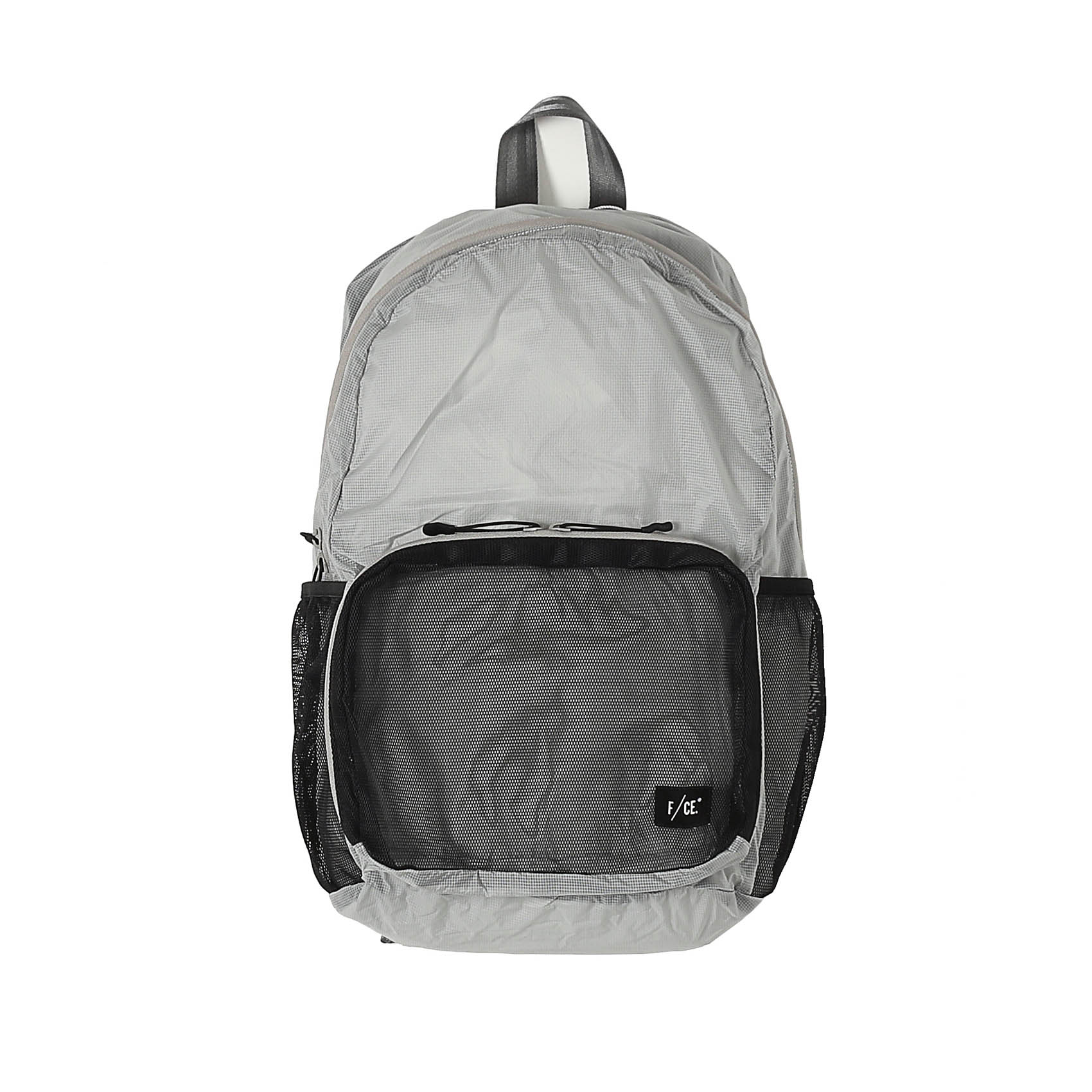 RECYCLED PACKABLE DAYPACK - GRAY